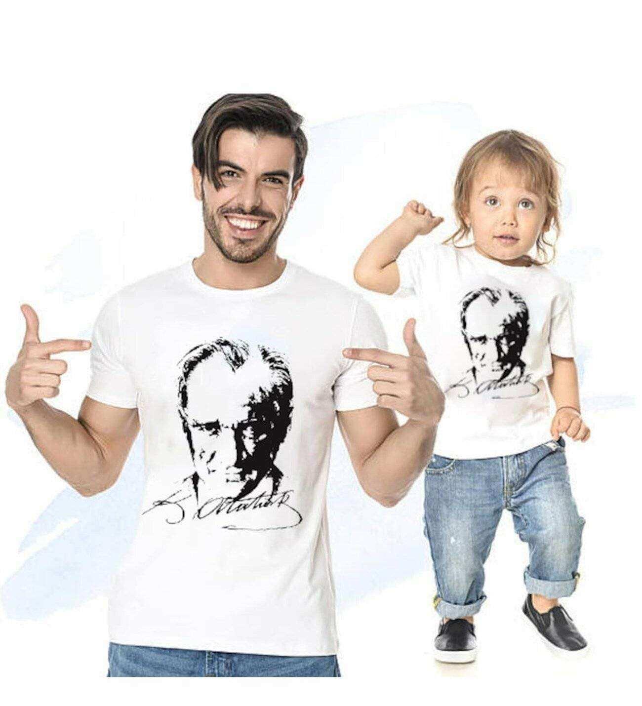 Tshirthane - Atatürk Baba Oğul Giyim Tshirt Tişört