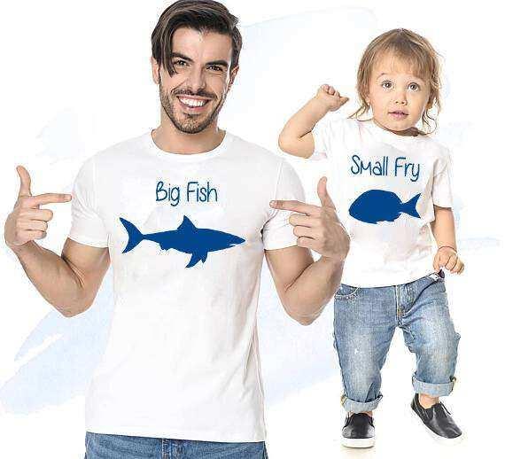 Big Fish Small Fry Baba oğul Giyim