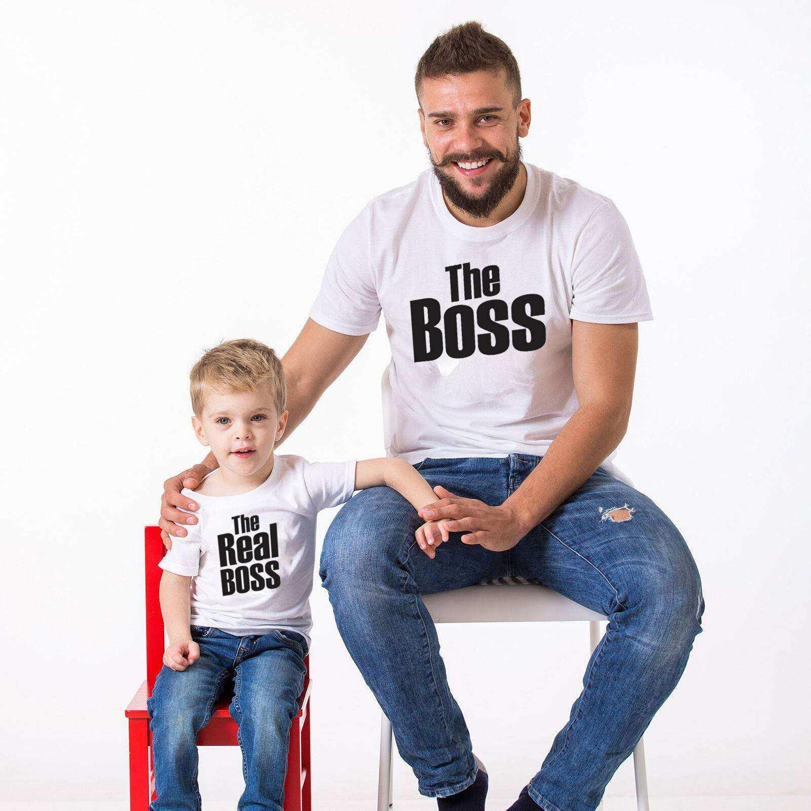 The Boss The Real Boss Baba oğul giyim