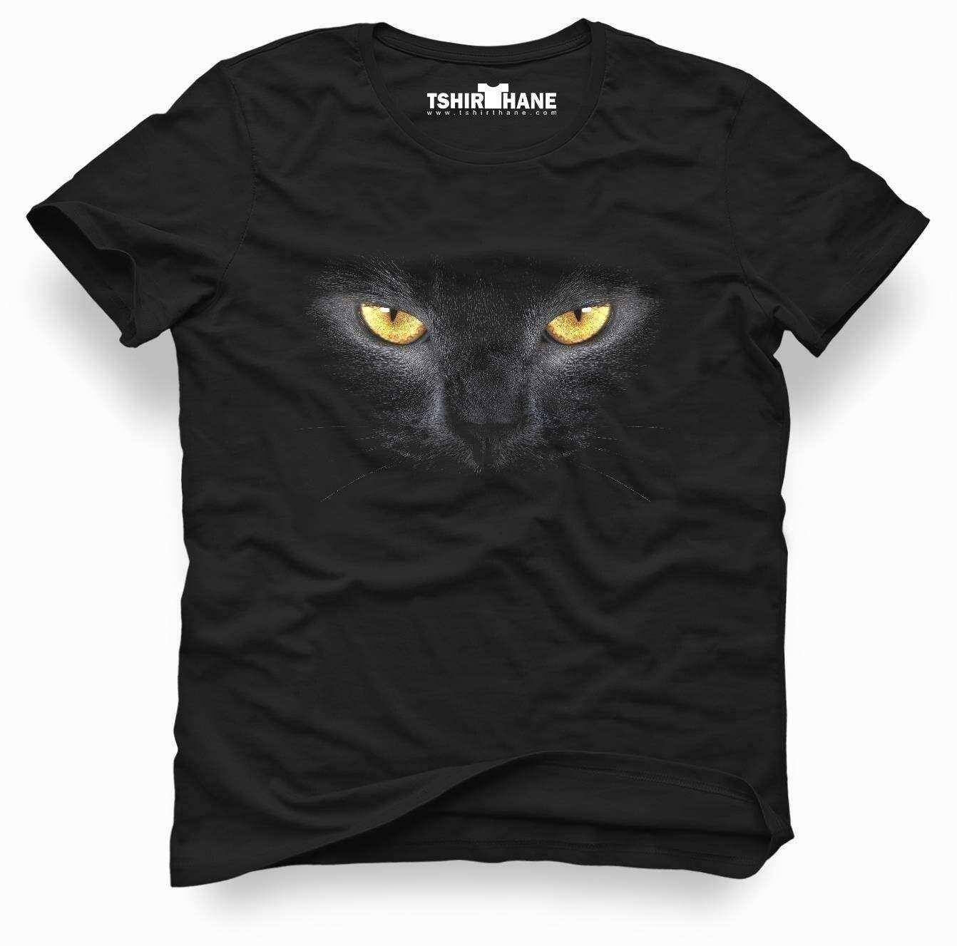 Tshirthane Cat Kedi 3d Tişört Erkek Tshirt