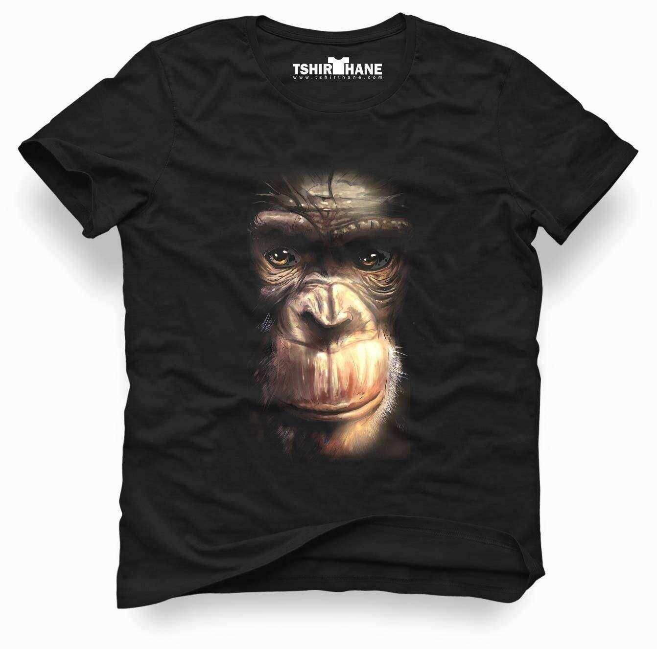 Tshirthane Doril Maymun 3d Tişört Erkek Tshirt
