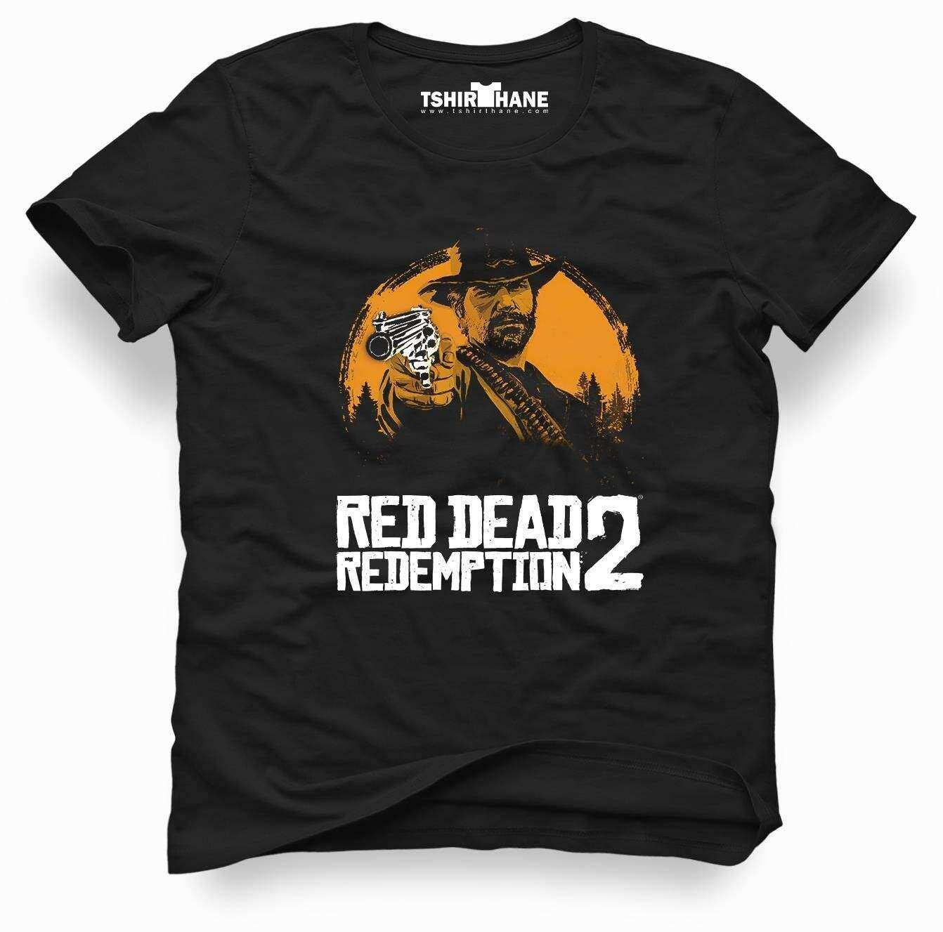 Tshirthane Red Dead Redemption 2 Tişört Erkek Tshirt