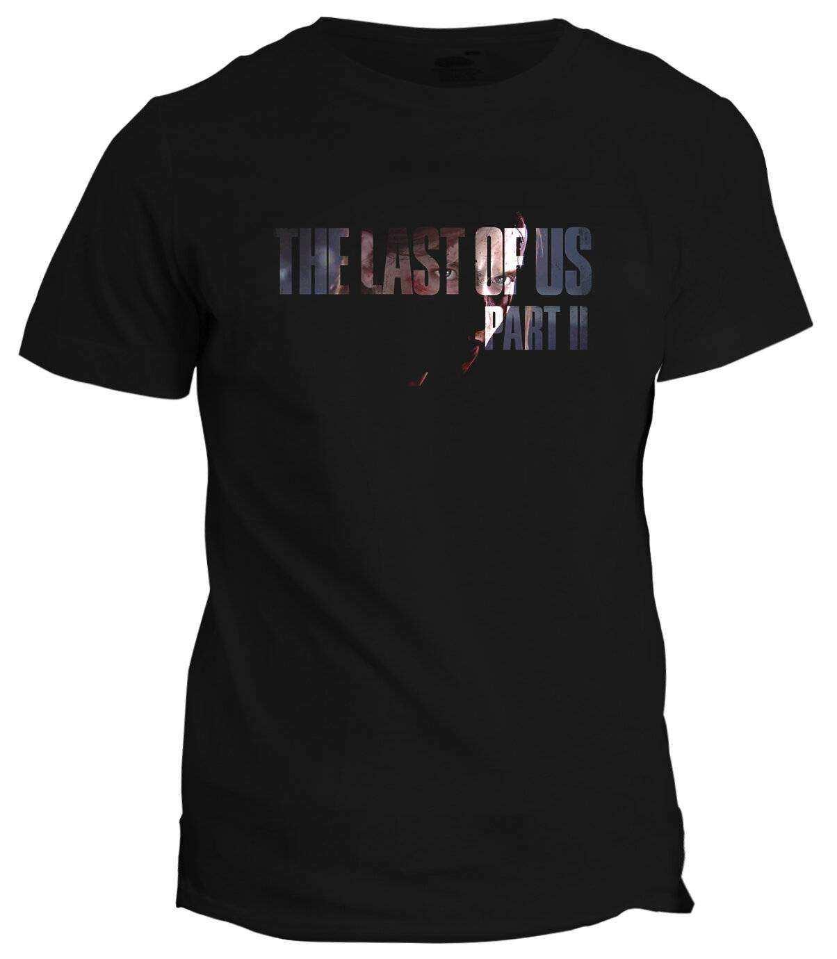 The Last Of Us Part ll Logo Siyah Tişört